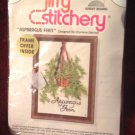 1975 Jiffy Stitchery Needlework Craft Kit Asparagus Fern #330 Charlene Gerrish