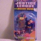 Brand New Mattel Justice League Superman Super Hero Mission Vision Action Figure