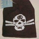 Brand New Unisex Dark Brown Goth Skull & Crossbones Knit Hat Cap