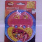 Brand New Disney High School Musical Childrens Plastic Mirror & Comb Set