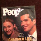 People Magazine John Kennedy Jr Carolyn Bessette 1999 Charmed Life Tragic Death