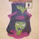 New Halloween Witch Wall Decoration Scary Spooky Hag Jointed Body 36' Tall Crone