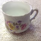 Vintage Pansies Flower Flowers Pansy Porcelain Barber Shop Shaving Mug Cup
