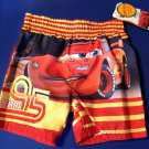 Swim Trunks Shorts Size 18 Month Disney Cars Team 95 UPF 50+ Infant New