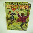 Vintage Hardcover Childrens Kids Book Little Men Author Louisa May Alcott 1955