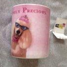CoffeeTea Mug Ceramic Precious Travel Dogs Poodle Dog New 18 oz Gift 2012