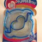 Crust Sandwich Cutter FlipperBytes Dolphin Shaped Blue Pancake Kitchen Utensil