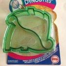 Crust Sandwich Cutter DynoBytes Dinosaur Shaped Green Pancake Kitchen Utensil