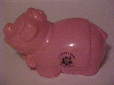 Vintage Advertising Norwest Banking Buddy Club Pink Plastic Still Pig Piggy Bank