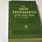 The New Testament of the Holy Bible Paperback Jesus Christianity Bible God