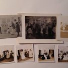 Vintage 7 Real Photographs Photos High School Play 1940s Teens Teenagers