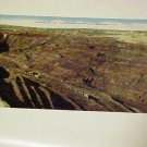 Vintage Postcard Post Card Open Pit Iron Ore Mine Minnesota Mining Unused Train