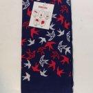 Bandana Red White Blue Doves New Skull Cap Du Rag Neckerchief Cancer Scarf Pet