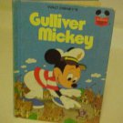 Gulliver Mickey Mouse Disney Vintage Childrens HC Book Illustrated