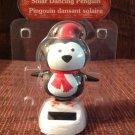 New Solar Sun Powered Chubby Penguin Christmas Dances Sunlight & Wiggles Head