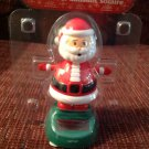 New Solar Sun Powered Santa Claus Christmas Dances in Sunlight & Wiggles Head