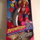 NRFB Baywatch Barbie & Dolphin 1994 Mattel Doll Lifeguard TV Show Beach Frisbee