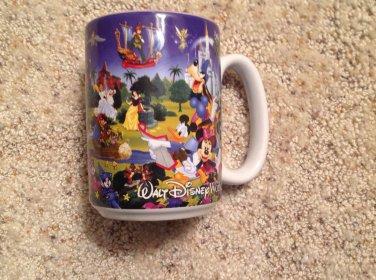Coffee Tea Mug Walt Disney World Grandmama 12 oz Souvenir Princess Mickey Lion