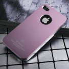 Air Jacket iPhone 4 4 S ultra-thin metal grind arenaceous case apple mobile phone cases pink
