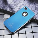 Air Jacket iPhone 4 4 S ultra-thin metal grind arenaceous case apple mobile phone cases Dark blue
