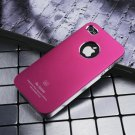 Air Jacket iPhone 4 4 S ultra-thin metal grind arenaceous apple mobile phone cases Gold red