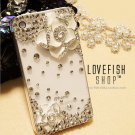 Apple and HTC 4 iphone4 camellia phone sets following glass Case Cover 4 s white