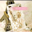 Ballet doll apple iphone4 four generations of mobile phone following Case Cover diamond 4 s