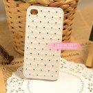 IPHONE 4 South Korea set auger diamond shell following phone sets white