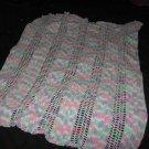 Pompador candy baby blanket