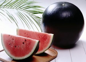 HOKKAIDO BLACK WATERMELON 10 FRESH SEEDS