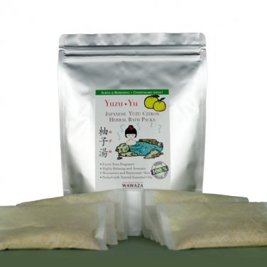 Yuzu (Japanese Citron) Herbal Bath Pack