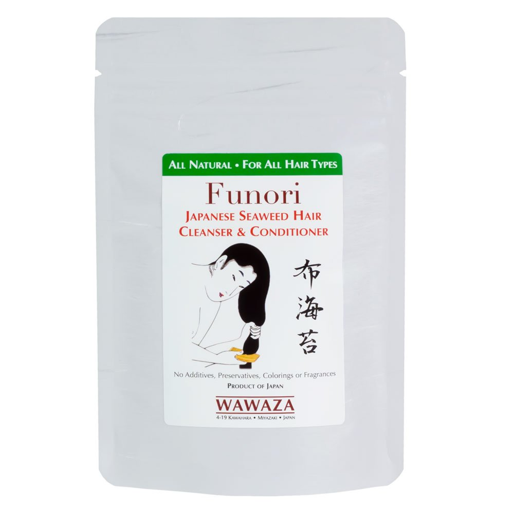 Funori Japanese Seaweed Hair Cleanser Conditioner