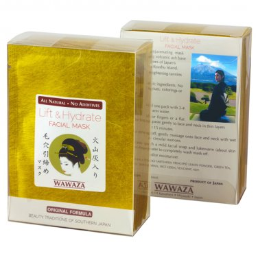 Lift & Hydrate Japanese Facial Mask with Volcanic Ash