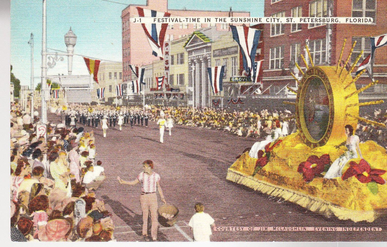 Postcard St Petersburg FL
