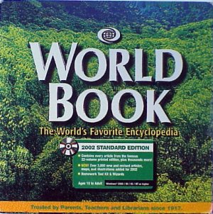 World Book Encyclopedia 2002 CD-ROM - NEW - FREE Shipping