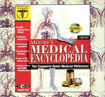 Mosby's Medical Encyclopedia CD-ROM - NEW - FREE Shipping