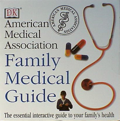 American Medical Association AMA Family Medical Guide - NEW CD-ROM - FREE Shipping