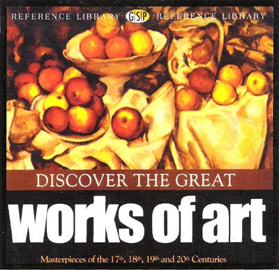 Discover the Great Works of Art de Vinci Matisse Rembrandt Van Gough Monet Renoir Degas More NEW CD