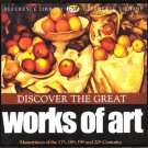 Discover the Great Works of Art de Vinci Matisse Rembrandt Van Gough Monet Renoir Degas More NEW CD
