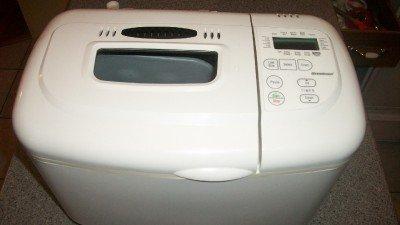 Breadman Plus Bread & Jam Maker TR845 White Makes ...