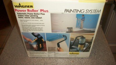 wagner power roller plus painting system paint roller home attachments best. Black Bedroom Furniture Sets. Home Design Ideas