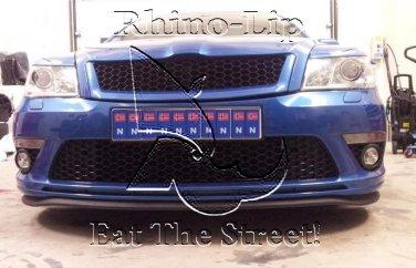 Saab 9 2X 3 5 900 Rhino Rubber Flex Front Valance Chin Spoiler Lip Splitter