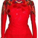 Red Pattern Shirt