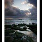 A4 Framed Landscape Print - Storm Coming