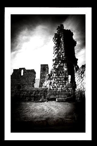 A4 Framed Landscape Print - Bede's Monastery Ruins
