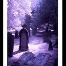 A4 Framed Landscape Print - Gothic Graveyard
