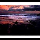 A4 Framed Landscape Print - Nightfall