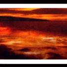 A4 Framed Landscape Print - Luxorious Shore