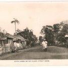 Sierra Leone-Native Village, Street Scene RPPC