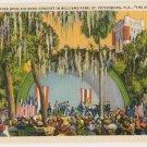 Open Air Band Concert-st Petersburg Florida Postcard